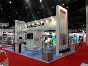 BICAKCILAR stand ArabHealth2016